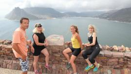 Running - hout bay look out
